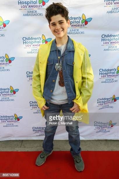 Host Jax Malcom attends the 2nd Annual #ActionJax Halloween Movie Morning Fundraiser at the Vista Theatre on October 7 2017 in Los Angeles California