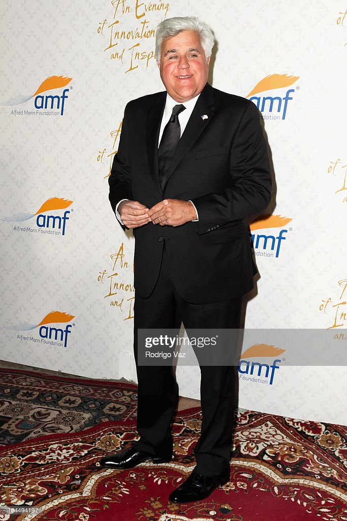 TV host Jay Leno attends the 10th Annual Alfred Mann Foundation Gala on October 13, 2013 in Beverly Hills, California.