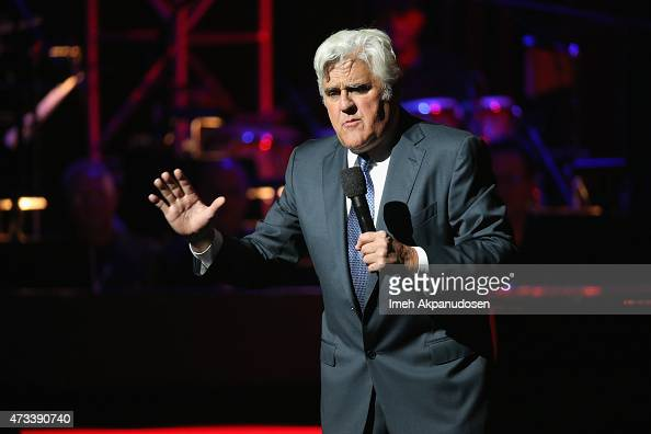 Host Jay Leno speaks onstage during the SeriousFun Children's Network 2015 Los Angeles Gala An Evening Of SeriousFun celebrating the legacy of Paul...