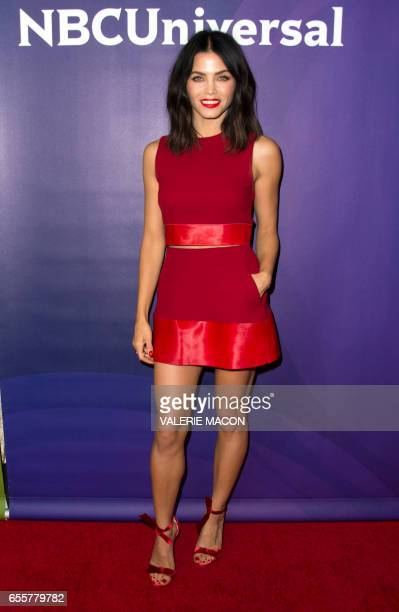 Host Jenna Dewan Tatum of 'World Of Dance' arrives at the NBC Universal Summer Press Day at the Beverly Hilton on March 20 Beverly Hills California /...