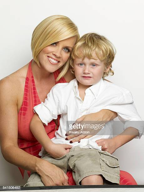 Jenny McCarthy and Son Evan