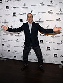 Host Jerry Seinfeld attends the Inaugural Los Angeles Fatherhood Lunch to Benefit Baby Buggy hosted by Jerry Seinfeld at The Palm Restaurant on March...