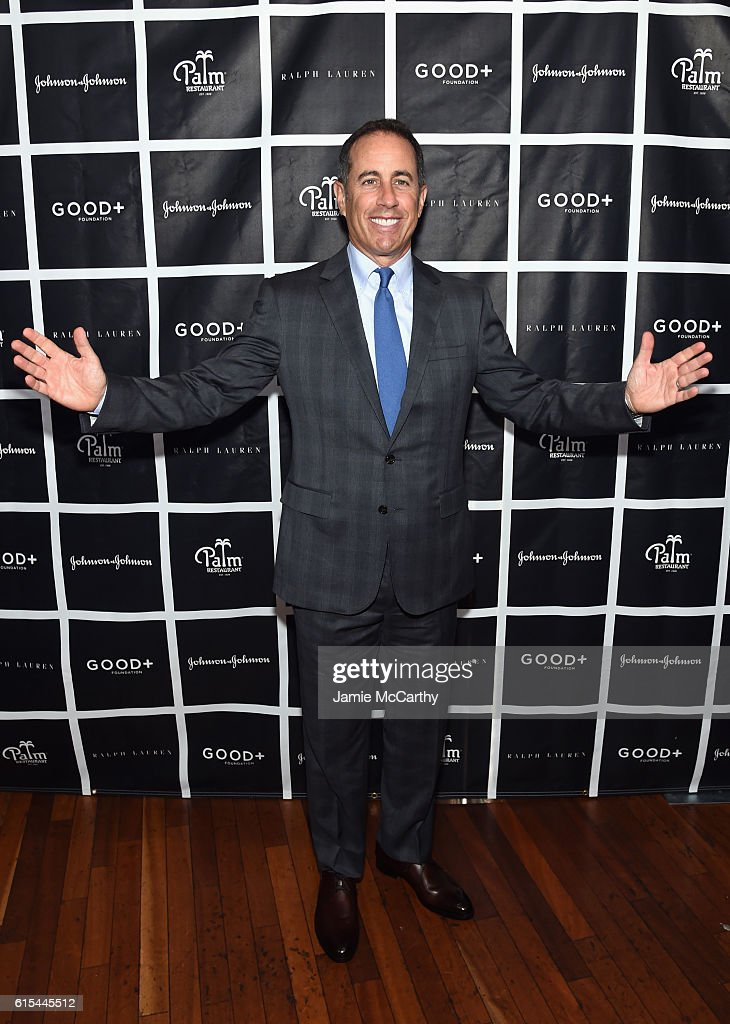 GOOD+ Foundation Fatherhood Lunch NY Hosted By Jerry Seinfeld - Arrivals