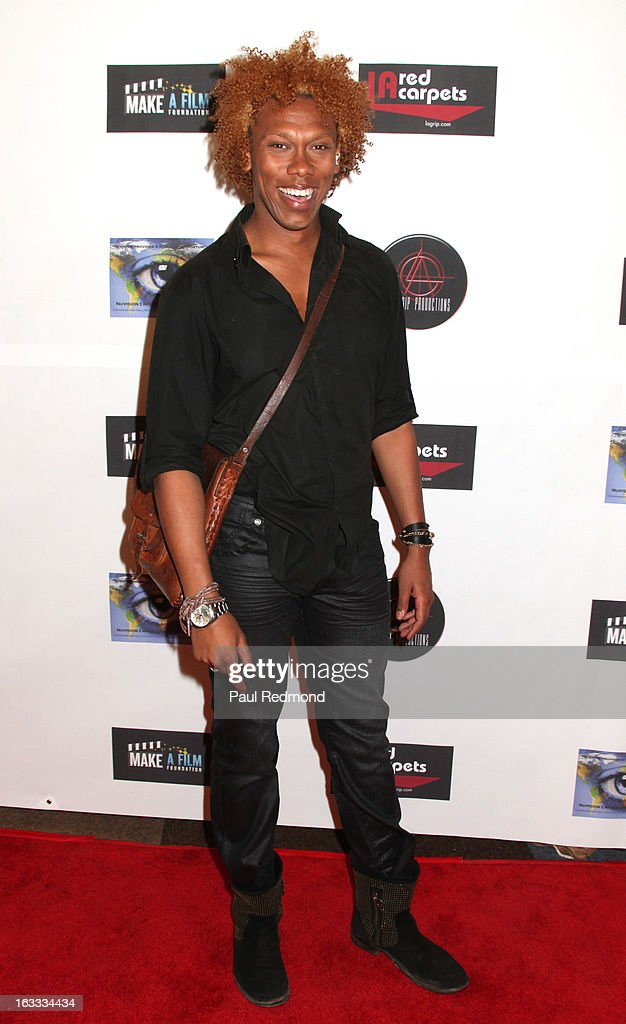 Host Jesse Lewis IV arrives at Make A Film Foundation's 'Kidz 4 Kidz' Comedy 4 A Cau$e Benefit Show at Writers Guild Theater on March 7, 2013 in Beverly Hills, California.