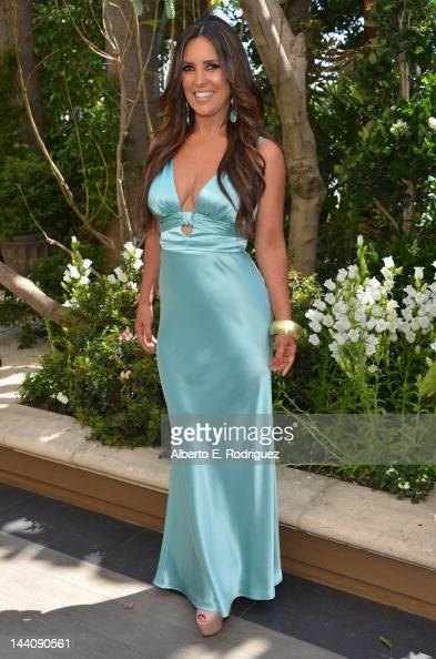 TV host Jillian Reynolds attends The Associates for Breast and Prostate Cancer Studies' Mother's Day Luncheon at Four Seasons Hotel Los Angeles at...