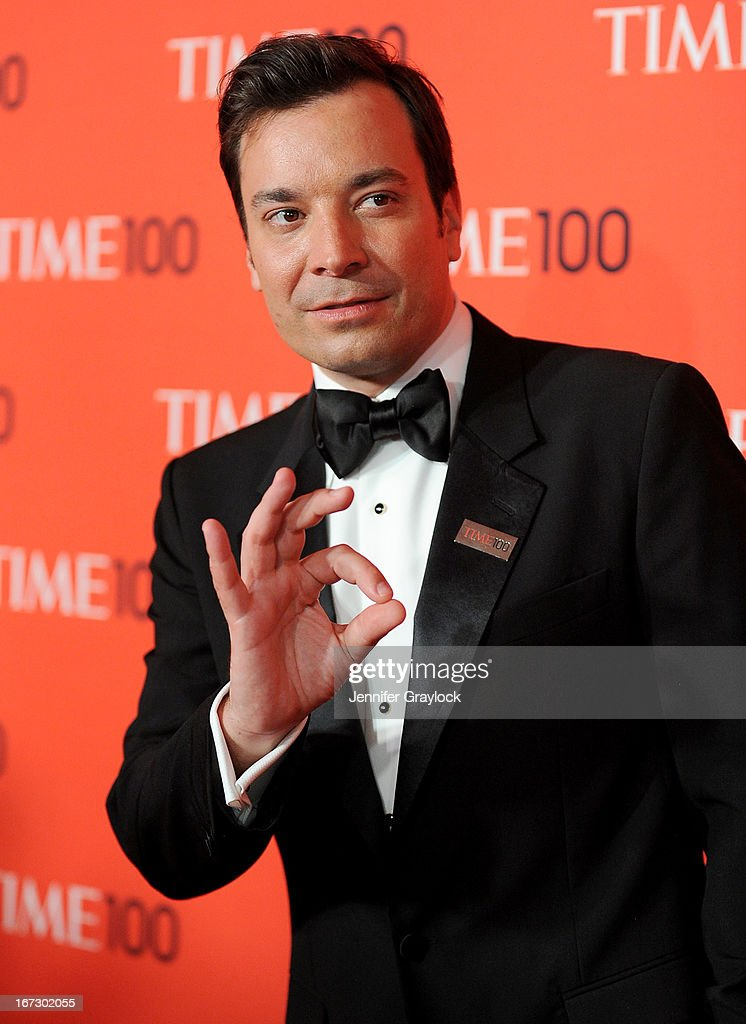 TV Host Jimmy Fallon attends the 2013 Time 100 Gala at Frederick P. Rose Hall, Jazz at Lincoln Center on April 23, 2013 in New York City.