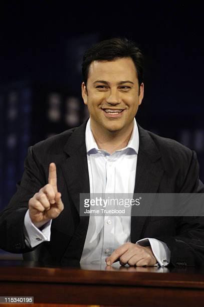 Host Jimmy Kimmel on the 'Jimmy Kimmel Live' Show on ABC Photo by Jamie Trueblood/WireImage/ABC