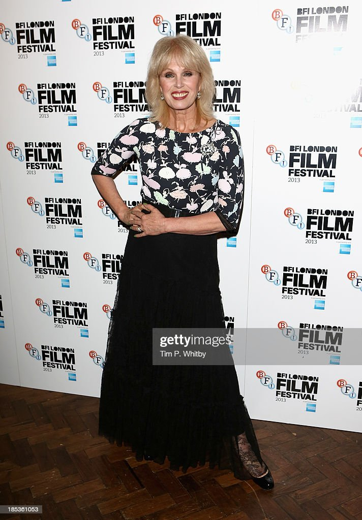 Host <a gi-track='captionPersonalityLinkClicked' href=/galleries/search?phrase=Joanna+Lumley&family=editorial&specificpeople=206307 ng-click='$event.stopPropagation()'>Joanna Lumley</a> at the BFI London Film Festival Awards during the 57th BFI London Film Festival at Banqueting House on October 19, 2013 in London, England.
