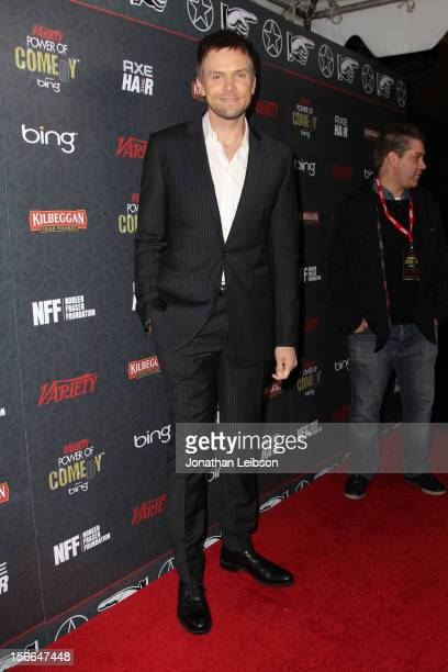 Host Joel McHale arrives at Variety's 3rd annual Power of Comedy event presented by Bing benefiting the Noreen Fraser Foundation held at Avalon on...