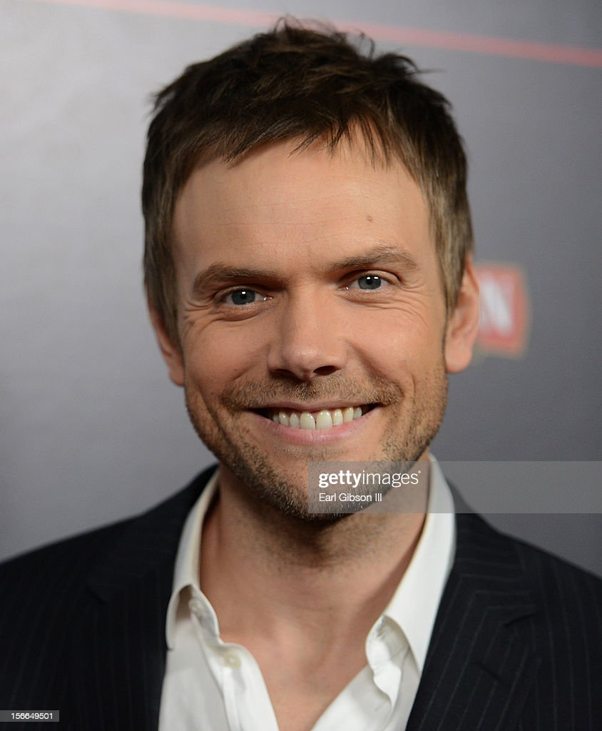 Host <a gi-track='captionPersonalityLinkClicked' href=/galleries/search?phrase=Joel+McHale&family=editorial&specificpeople=754384 ng-click='$event.stopPropagation()'>Joel McHale</a> arrives at Variety's 3rd annual Power of Comedy event presented by Bing benefiting the Noreen Fraser Foundation held at Avalon on November 17, 2012 in Hollywood, California.