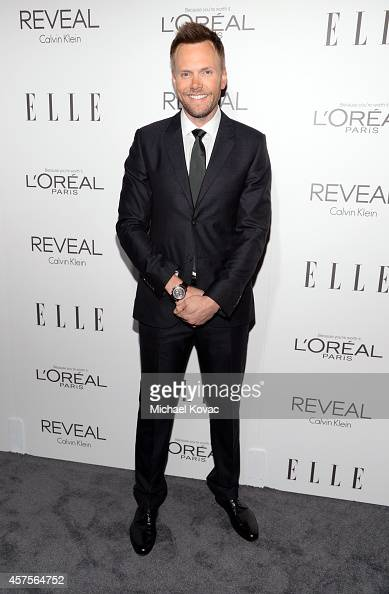 Host Joel McHale attends ELLE's 21st Annual Women in Hollywood Celebration at the Four Seasons Hotel on October 20 2014 in Beverly Hills California
