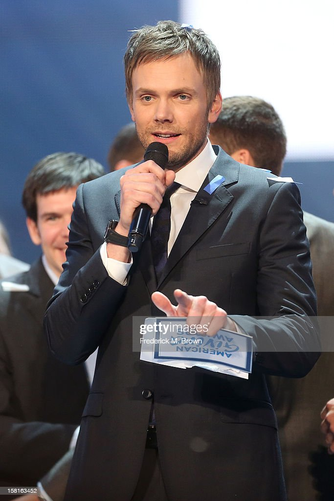 Host Joel McHale onstage at the American Giving Awards presented by Chase held at the Pasadena Civic Auditorium on December 7, 2012 in Pasadena, California.