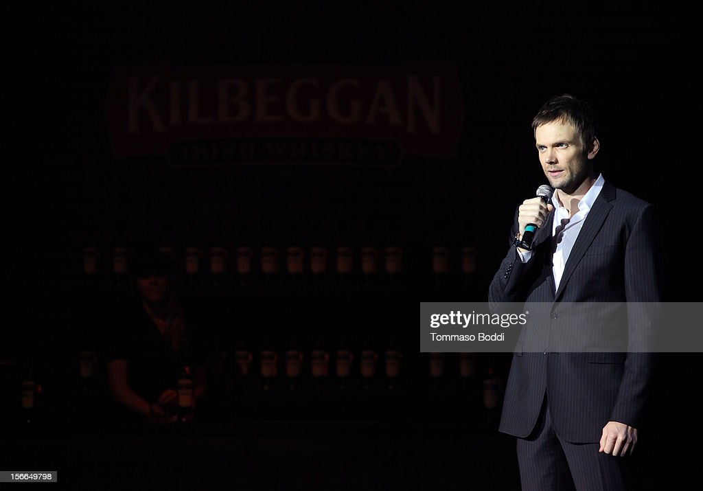Host Joel McHale speaks onstage at Variety's 3rd annual Power of Comedy event presented by Bing benefiting the Noreen Fraser Foundation held at Avalon on November 17, 2012 in Hollywood, California.
