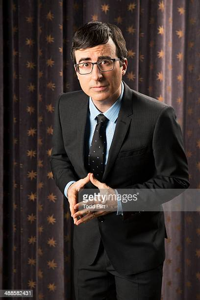 TV host John Oliver is photographed for USA Today on April 7 2014 in New York City