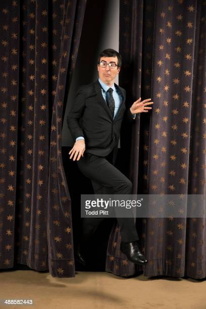 TV host John Oliver is photographed for USA Today on April 7 2014 in New York City PUBLISHED IMAGE