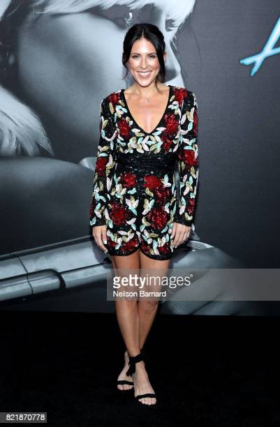 TV host Joslyn Davis attends Focus Features' 'Atomic Blonde' premiere at The Theatre at Ace Hotel on July 24 2017 in Los Angeles California