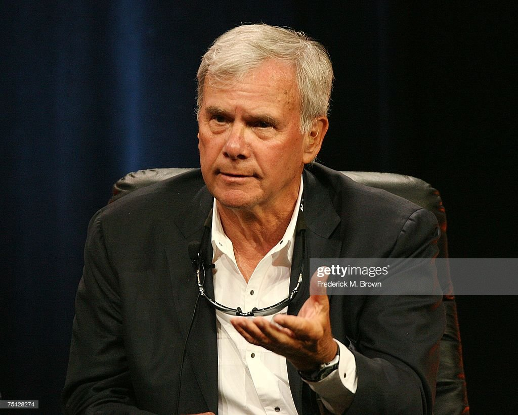 Host, Journalist Tom Brokaw speaks for the television show '1968 with Tom Brokaw' during the NBC Univesal Cable portion of the Television Critics Association Press Tour at the Beverly Hilton Hotel July 15, 2007 in Beverly Hills, California.