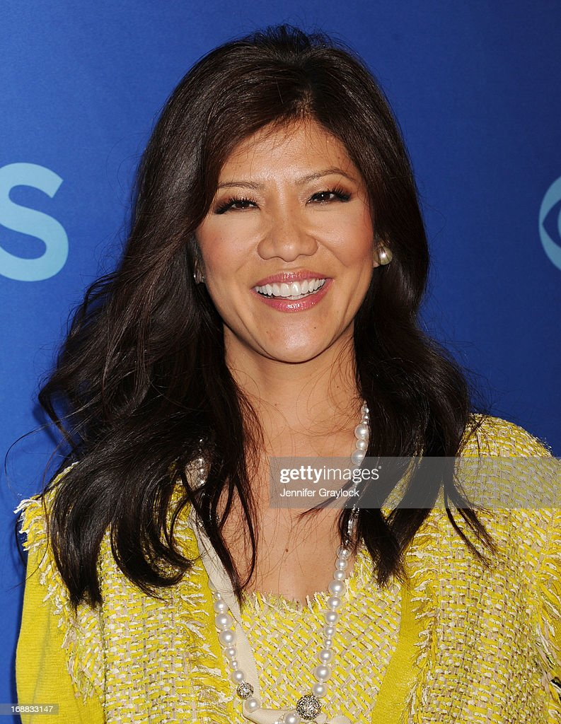 TV Host Julie Chen attends the CBS 2013 Upfront Presentation at The Tent at Lincoln Center on May 15, 2013 in New York City.