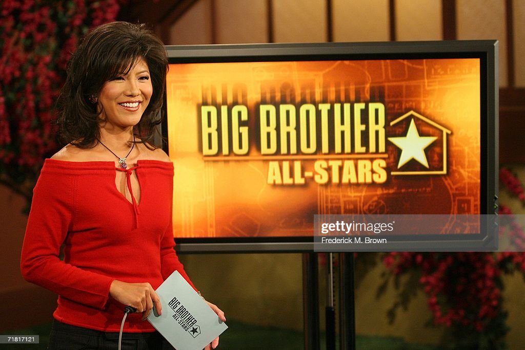 Host Julie Chen speaks after Janelle Pierzina the 26yearold VIP cocktail waitress currently living in Miami Beach Florida became the 12th and final...