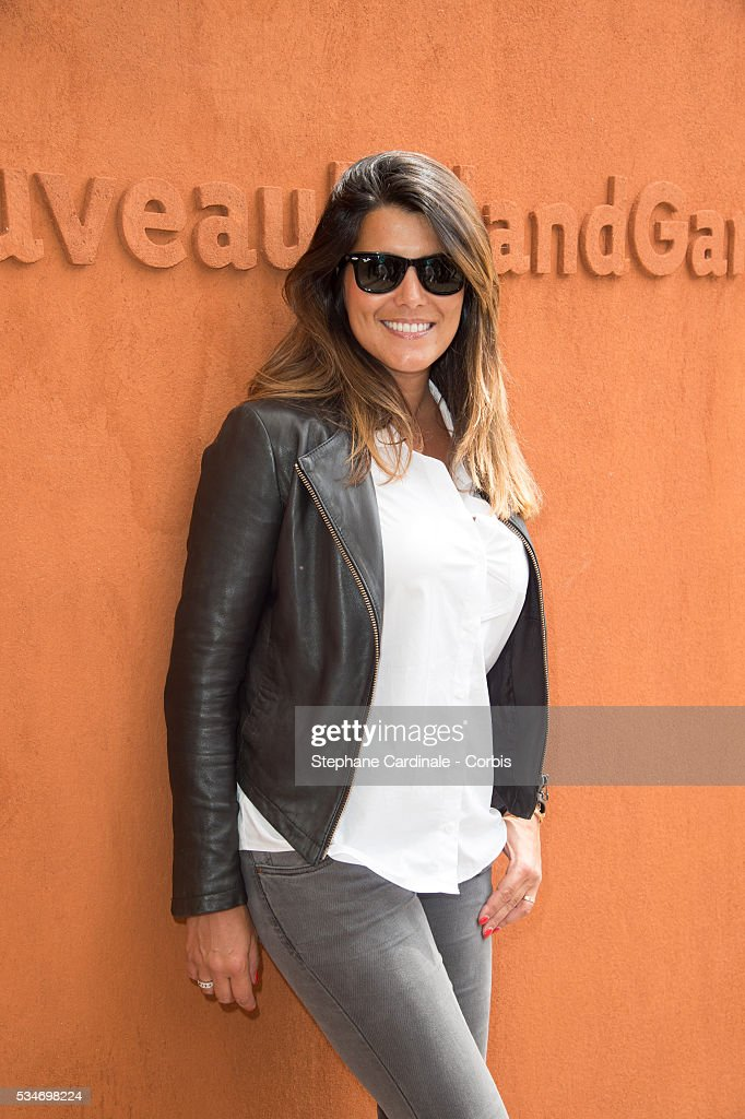 TV Host <a gi-track='captionPersonalityLinkClicked' href=/galleries/search?phrase=Karine+Ferri&family=editorial&specificpeople=4532443 ng-click='$event.stopPropagation()'>Karine Ferri</a> attends day six of the 2016 French Open at Roland Garros on May 27, 2016 in Paris, France.