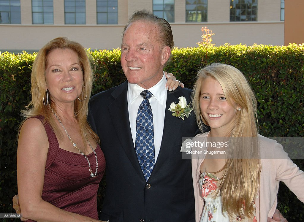 TV Host Kathie Lee Gifford, husband TV commentator Frank Gifford and their daughter Cassidy Gifford attend the 2008 Disney Legends Ceremony at the Walt Disney Studios on October 13, 2008 in Burbank, California.