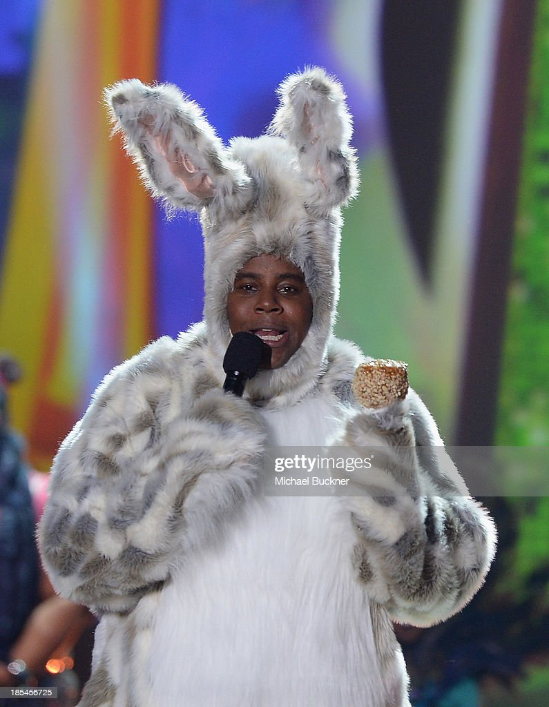 Host Keenan Thompson attends Hub Network's First Annual Halloween Bash at Barker Hangar on October 20, 2013 in Santa Monica, California.