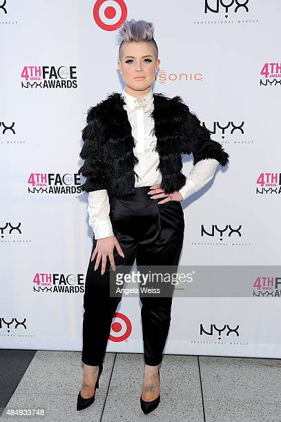 Host Kelly Osbourne attends the 4th Annual NYX FACE Awards at Club Nokia on August 22 2015 in Los Angeles California