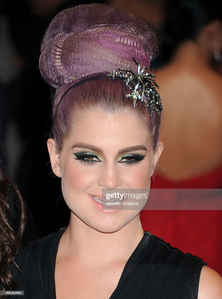 TV Host Kelly Osbourne attends the Costume Institute Gala for the 'PUNK: Chaos to Couture' exhibition at the Metropolitan Museum of Art on May 6, 2013 in New York City.