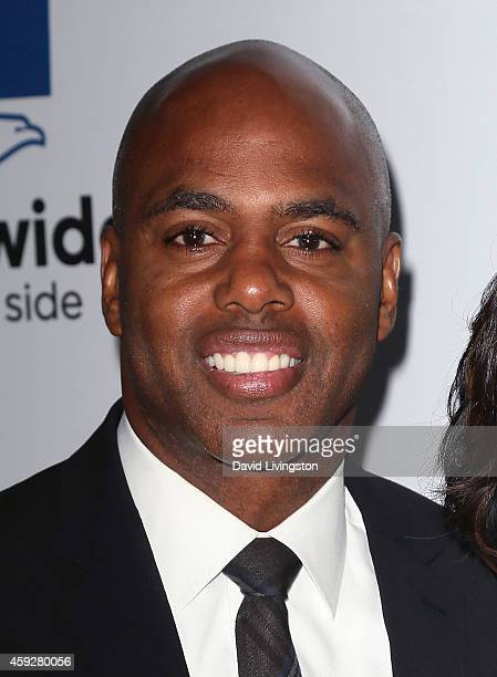 TV host Kevin Frazier attends the 2014 Ebony Power 100 List event at Avalon on November 19 2014 in Hollywood California