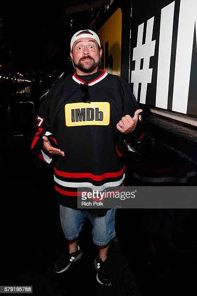 Host Kevin Smith attends the IMDb Yacht Party Presented By TCL at on July 22 2016 in San Diego California