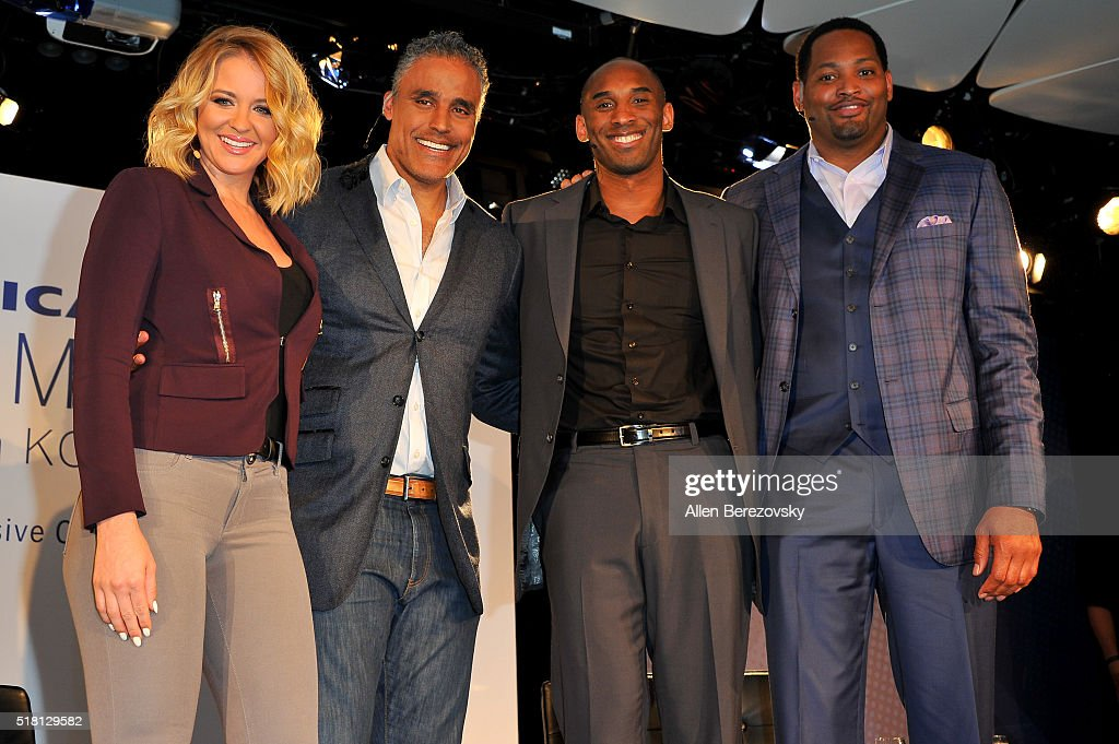 American Express Teamed Up With Kobe Bryant, Rick Fox And Robert Horry At Conga Room In Los Angeles