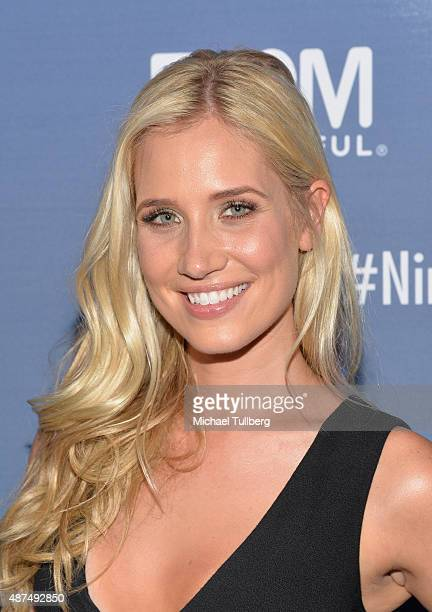 TV host Kristine Leahy attends NBC's 'American Ninja Warrior' Season 7 Finale at The Autry National Center on September 9 2015 in Los Angeles...