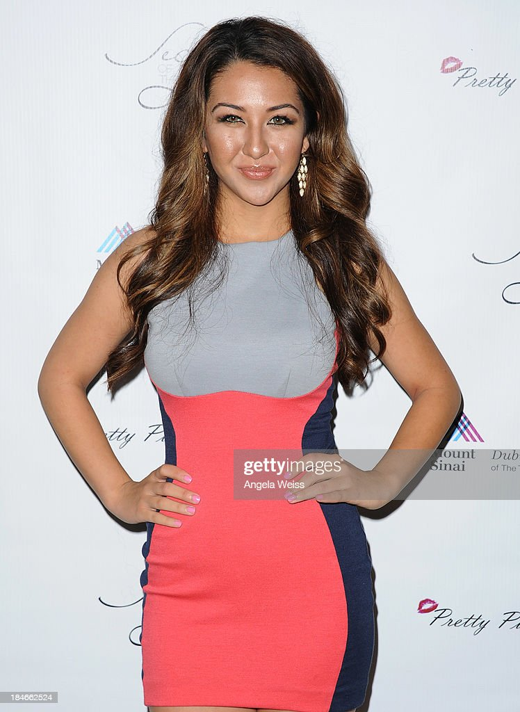 TV host Kyra Batte attends Pretty Pink Beauty Night in Recognition of Breast Cancer Awareness Month at Tiato on October 14, 2013 in Santa Monica, California.