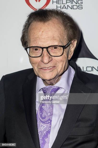 Host Larry King arrives at 3rd Annual Los Angeles Police Memorial Foundation Celebrity Poker Tournament And Casino Night Party at Avalon on September...