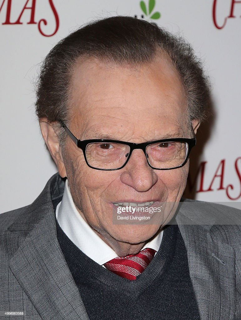 TV host Larry King attends the premiere of Unstuck's 'Christmas Eve' at ArcLight Hollywood - host-larry-king-attends-the-premiere-of-unstucks-christmas-eve-at-picture-id499680588