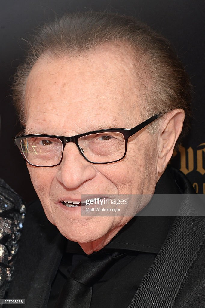 TV host <a gi-track='captionPersonalityLinkClicked' href=/galleries/search?phrase=Larry+King&family=editorial&specificpeople=202014 ng-click='$event.stopPropagation()'>Larry King</a> walks the red carpet at the 43rd Annual Daytime Emmy Awards at the Westin Bonaventure Hotel on May 1, 2016 in Los Angeles, California.