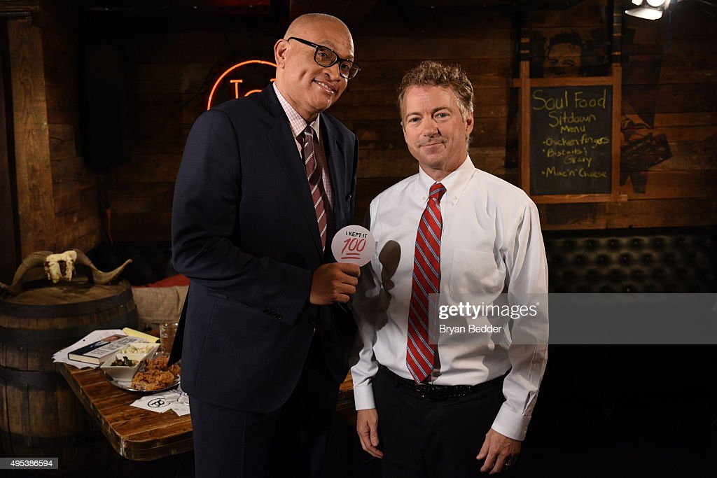 "Comedy Central's ""The Nightly Show With Larry Wilmore"" Soul Food Sit Down With Republican Candidate Senator Rand Paul"