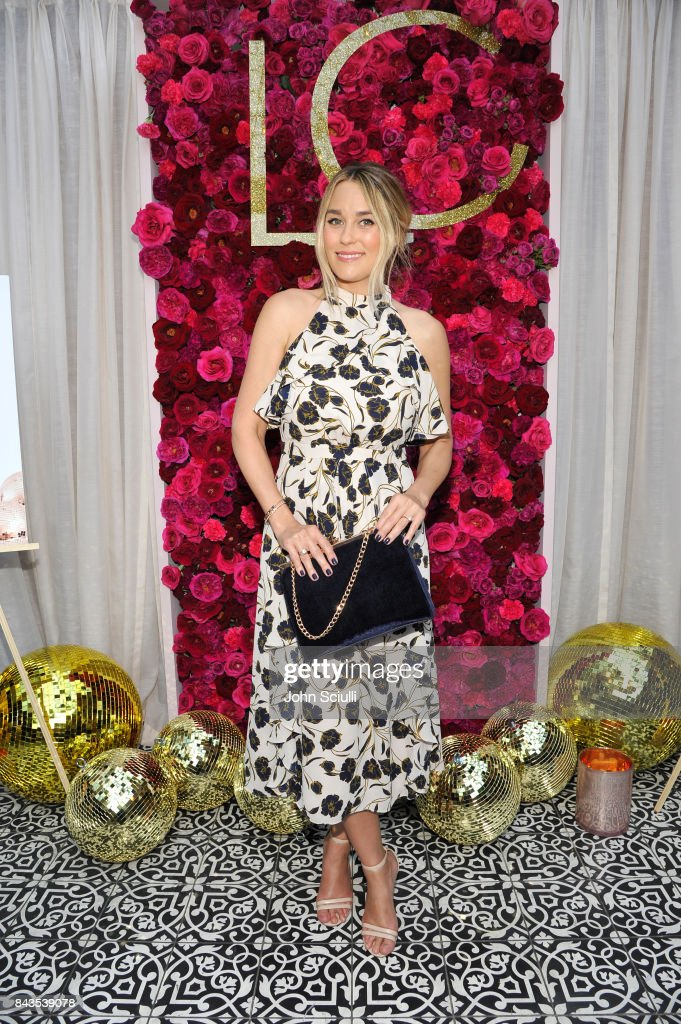 Host Lauren Conrad attends Lauren Conrad and Kohl's third runway collection Girls' Night Out party at Beauty & Essex on September 6, 2017 in Los Angeles, California.