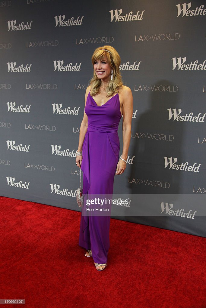 TV Host <a gi-track='captionPersonalityLinkClicked' href=/galleries/search?phrase=Leeza+Gibbons&family=editorial&specificpeople=217241 ng-click='$event.stopPropagation()'>Leeza Gibbons</a> attends the Los Angeles World Airports (LAWA) and Westfield present grand opening of the new Tom Bradley International Terminal on June 20, 2013 in Los Angeles, California.