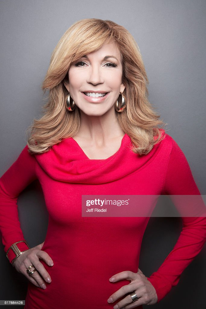 TV host Leeza Gibbons is photographed for TV Guide Magazine on January ...