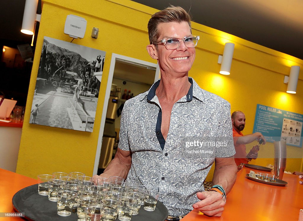 Host Lenny Strand attends a Tequila Tasting during the Bash To Banish Bullying Benefiting It Gets Better, a Matrix Chairs Of Change Event - Day 1 at Saguaro Hotel on March 16, 2013 in Palm Springs, California.