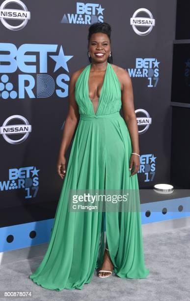 Host Leslie Jones attends the 2017 BET Awards at Staples Center on June 25 2017 in Los Angeles California