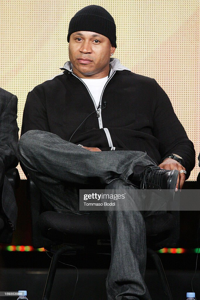 Host LL Cool J of the TV show 'The 55th Annual Grammy Awards' attends the 2013 TCA Winter Press Tour CW/CBS panel held at The Langham Huntington Hotel and Spa on January 12, 2013 in Pasadena, California.