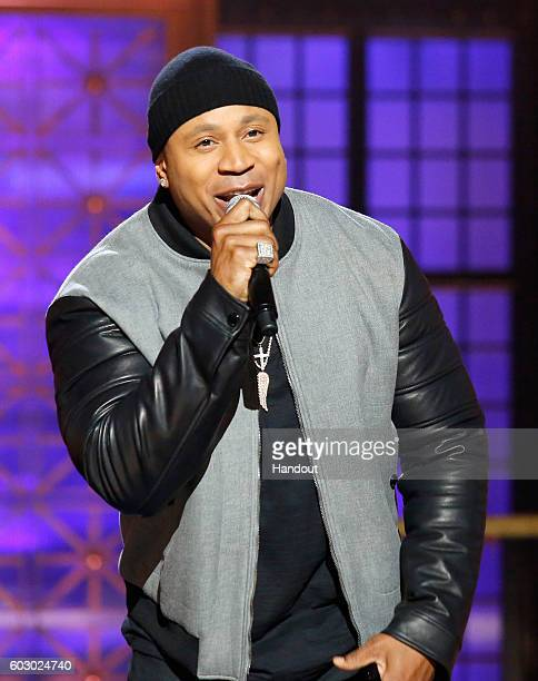 Host LL Cool J onstage during Spike TV's Lip Sync Battle All Stars Live on September 11 2016 in Studio City California