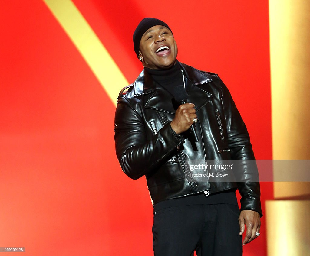 Host LL Cool J speaks onstage during A VERY GRAMMY CHRISTMAS at The Shrine Auditorium on November 18 2014 in Los Angeles California