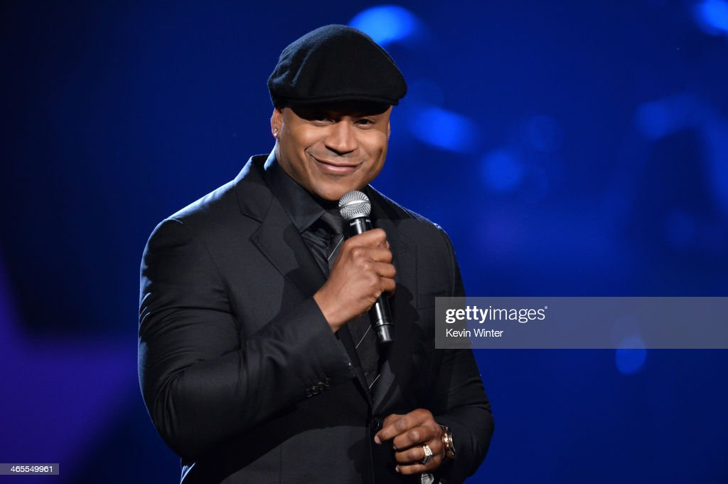 Host LL Cool J speaks onstage during 'The Night That Changed America A GRAMMY Salute To The Beatles' at the Los Angeles Convention Center on January...