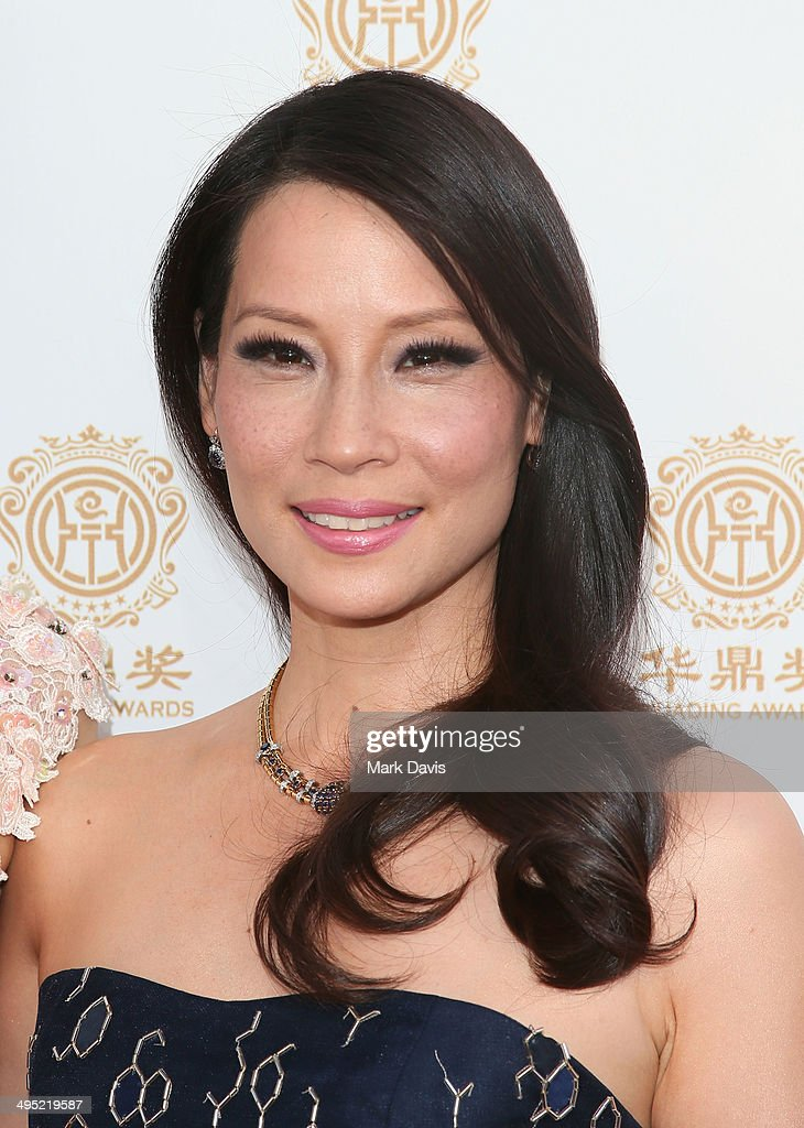 Host Lucy Liu attends the Huading Film Awards on June 1, 2014 at Ricardo Montalban Theatre in Los Angeles, California