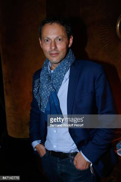 TV Host MarcOlivier Fogiel attends the Reopening of the Hotel Barriere Le Fouquet's Paris decorated by Jacques Garcia at Hotel Barriere Le Fouquet's...