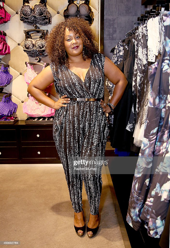Host Marie Denee of TheCurvyFashionista.com attends the City Chic Exclusive Preview: First U.S Store Culver City at Westfield Culver City Shopping Mall on July 31, 2014 in Culver City, California.