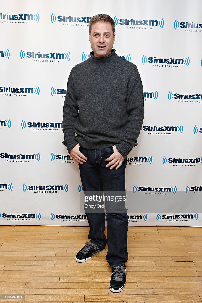 TV host Mark L. Walberg visits the SiriusXM Studios on January 7, 2013 in New York City.